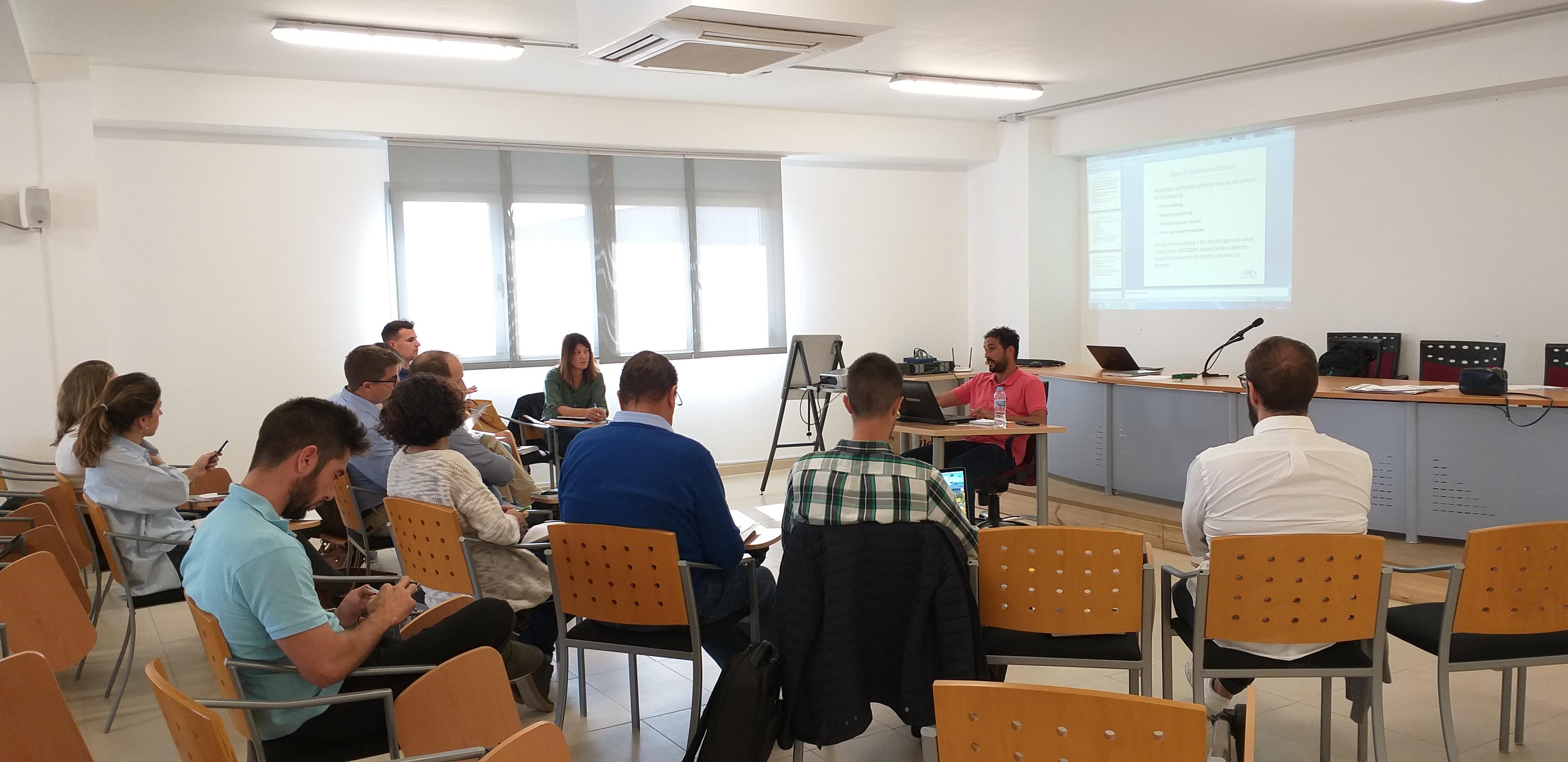 """FSVP Almería: """"Programas de Verificación de Proveedores Extranjeros"""""""