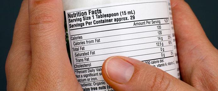 Actualización para la industria: La FDA emite una guía final para las regulaciones de etiquetado de Información Nutricional